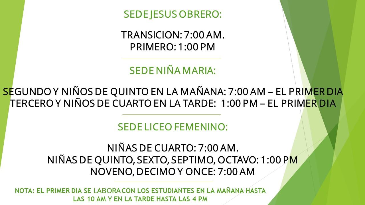 COMUNICADO URGENTE DE RECTORIA IENSP CORRECCION